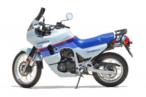 iWannaRideToo takes a pair of 1989 Honda Transalps to Alaska.